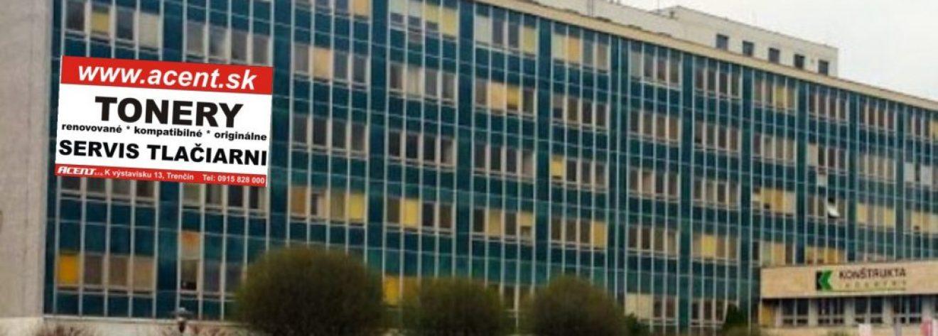 ACENT s.r.o. profesionálna renovácia tonerov a servis tlačiarní